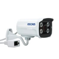 Wholesale EU plug Escam Brick QD300 Onvif P IR Bullet H CMOS mm fixed lens Night Vision Waterproof P2P Mini IP Camera