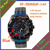Wholesale New EF RBSP AV EF RBSP AV EF RBSP AV Sports Chronograph Mens Watch Second Stopwatch Pendulum Swing Function