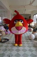 Wholesale The most popular Christmas Halloween Red Bird costumes for Halloween party supplies adult size mascot
