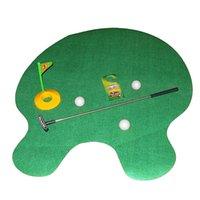Wholesale Minigolf Mini Golf Toys Gifts Clubs Set Training Golf Putter Driver Sets Accessories Tee Golf Training Aids B155