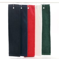 Wholesale 2015 Cotton High Quality Golf Towel Towels cm Comfortable Sport Towel With Mental Hook Quick Dry TowelsZ00300