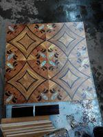 Wholesale Copper wood floor Mosaic f Medallion flooring Geothermal wood flooring Fight flowers floor Artistic wood flooring Private custom living room