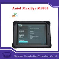 Wholesale Free DHL Autel MaxiSys Mini MS905 Diagnostic Analysis System with quot Screen LED Touch Display MS Multi language