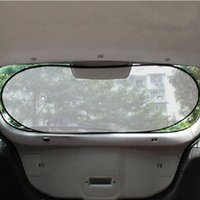 Wholesale 100x50cm Car Rear Window Sunshade Sun Shade Cover Visor Shield Screen Black Mesh