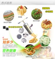 Wholesale Joon wife Small household hand pressure pasta machine stainless steel pressing machine multifunction machine extrusion surface mechanism noo
