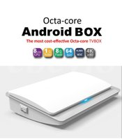 Wholesale Cheap Android TVbox Octa Core GB Memory bit CPU Support Bluetooth GHZ WiFi Full HD Android5 With USBPorts M Base TVR35