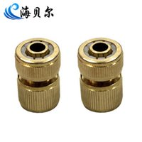 Cheap Copper quick connector quick connector water connection 16mm water pipe single