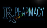 bars drug - LK939 TM RX Pharmacy Drug Stores Shops Neon Light Sign Advertising led panel jpg
