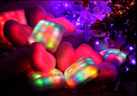 led pillow - Bright Light Pillow For Festival Room Decoration New Fashion LED Bright Light Pillow Starlight Square