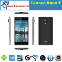 phone unlock gsm t-mobile - 2015 new Original Lenovo K900 T MTK6592 Octa Core Smartphone Mobile Phone IPS quot MP Android Unlock GSM WCDMA G