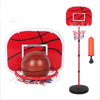 basketball hoop children - Basketball Hoop Children Kids Adjustable Toy Basketball Back Board Stand Hoop Set