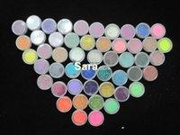 art hair colour - COLOUR PARTY Nail Art Glitter Dust Eyeshadows BODY PIGMENT hair Powder UAG50