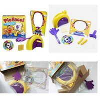 Wholesale Top Selling Running Man Pie Face Game Cream Hit Face Home Parent and Child Games Novelty Fun Anti Stress Prank Funny Rocket Toys Kids Toys