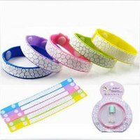 Cheap 2014 NON TOXIC natural cute Anti Mosquito Bug Repellent Bracelet Wrist Band No Insects