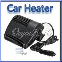 auto heat air - Hot Sale Black Portable V Auto Car Vehicle Heater Heating Fan Defroster For Window Screen Demister Hot Warm Air Conditioner
