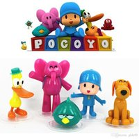 pokemon - New Pocoyo ELLY PATO Loula Sleepy bird Loose PVC figures Toy Gift