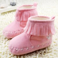 baby first products - new season products sell like hot cakes baby walker shoes for the first time that fashionable tassel cotton babies age and warm prewalke