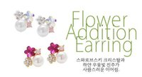 Wholesale Hot Selling Fashion Paragraph Earrings Double Side Shining Pearl mm Stud Earrings Big Pearl Earrings For