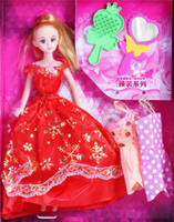 barbie dolls - Fashion Girl Barbie Doll Toy Children Love Popular Colorful Barbie Doll Gift Toys