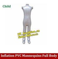 Wholesale Inflatable model Mannequins Inflatable model Full Body Inflatable Child Mannequin for Designing Clothes Displays order lt no track