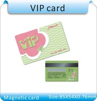 pvc card - 1 Reader Printing PVC Hi co magnetic stripe Plastic VIPCard Mil Magnetic Card with protective fill X54X0 mm
