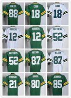 packer jersey - Cheap Packers Aaron Rodgers Jordy Nelson Clay Matthews Randall Cobb Donald Driver Jersey American Football Jersey