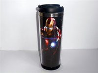 best man mug - New Diy The Avengers Iron Man Mug Coffee Cup Water Cup Travel Cup Drinkware CM OZ Creative Cup Best Gift