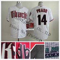 arizona short sales - 30 Teams Hot sales Arizona Diamondbacks jerseys Martin Prado Cool Base cheap Baseball Jersey shirt Embroidered Logos