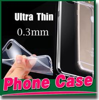 tpu gel case - Iphone plus transparent TPU Gel Crystal Clear soft Silicon Case Back Cover For Samsung galaxy S5 S4 S6 EDGE HTC M9 LG G3 iPhone S