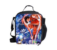 adults lunch bag - New Sale Insulated Dragon Ball Z Lunch Bag For Kids Cute Girls Thermal bag Lunch Fashion Adult Lunchbag Children Lunch Box Bolsa