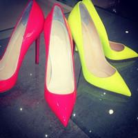 Neon High Heel Sandals Price Comparison  Buy Cheapest Neon High