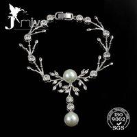 Wholesale Big pearl wedding bracelet gold jewelry for women new arrival