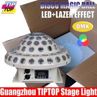 ball display case - New Arrival Digital Display White Color Case Led Magic Ball W RGB W Led Stage Light DMX512 Control Americal DJ Light