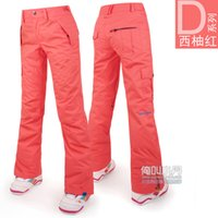 Wholesale New Fashion Womens Winter Warm Clothes High Quality Snowboarding Pants Waterproof For Women Lady