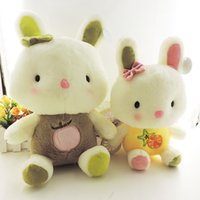 baby doll fragrance - Hot korean cute baby toys stuffed animal sweet fragrance bunny rabbit plush dolls Easter Christmas gift many colors cm cm