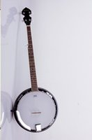 Wholesale 2015 New Factory Handmade strings TIANYIN Brand Banjo Mahogany body banjo guitars All chrome hardware banjo