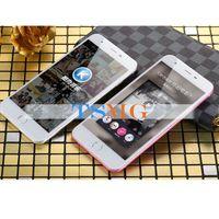 Wholesale Rose Gold Goophone i6S Plus V4 Touch ID Fingerprint Quad Core MTK6582 GB GB Show GB GB G LTE P MP Camera Nano Sim Smartphone