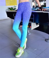 Wholesale Women Fitness Bodybuilding And Clothes Running Yoga Clothing Sports Pants Lady Leggings For Female Legging Tights Workout Sport