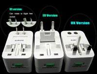 surge protector - Surge Protector All in One Universal International Travel Wall Charger AC Power Adapter adaptor Converter for AU UK US EU Plug DHL Free pc