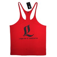 Wholesale New bodybuinding regatas mens stringer gym tank tops fitness men LOA camiseta regata masculina men gym clothes men musculation