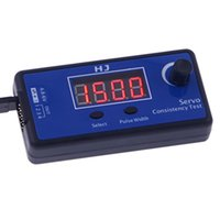 Wholesale HJ Digital Servo Tester ESC Consistency Tester for RC Helicopter Airplane Car RC Helicopter Tester Tool