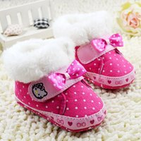 baby shose - Baby First Walker Shose For Autumn And Winter Newborn Infant Boots Shoes Pure Cotton Toddler Boots Fit Age Baby CD263