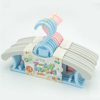 plastic hanger - Children s Style cute scalable adjustable Plastic hanger for Clothes