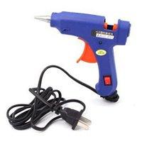 Wholesale 2014 New Professional W Sticks Trigger Art Craft Repair Tool Mini Electric Heating Hot Melt Glue Gun For Sale