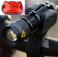 cree q5 bike light - 2015 Rushed New Bicycle Accessories Luces Led Bicicleta Lm Cree Q5 Led Cycling Bike Bicycle Head Front Light Torch mount taillight