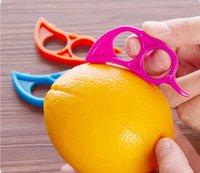 orange peeler - Orange Opener Peeler Slicer Cutter Plastic Lemon Citrus Fruit Skin Remover