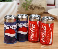 Wholesale Cola Pencil Sharpener Creative Dual Stationery Pencil stationery stuff office funny supplies for Students Awards Desktop Gadgets