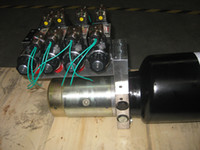 act packs - high quality manufacture factory v motor for hidraulico hydraulic motor pump Power packing Units for double acting groups cylinders