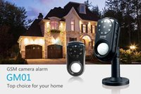 Wholesale Mini GSM Alarm System With PIR Motion Night Version MMS SMS Home Alarm System Android iOS App
