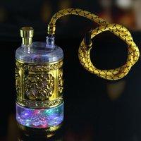Wholesale Genuine kaleidoscope metal health hookah pot dual use on behalf of
